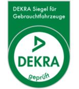 Gebrauchtwagen kaufen mit DEKRA Siegel